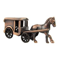 1:48 Scale O Gauge Model Train Accessory Amish Horse And Bug
