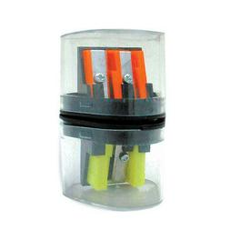 3-In-1 Pencil & Crayon Sharpener 9 Piece Display-