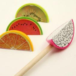10 Pcs Creative Fruit Mini Pencil Sharpener