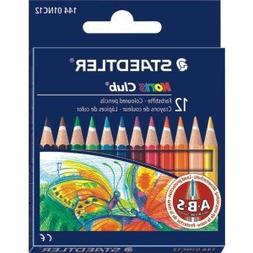 STAEDTLER 10 X Noris Club Colouring Pencil Half Length) Cas