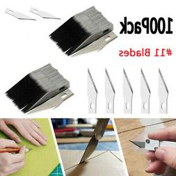 100PCS Blades for x-acto Knife Replacement Light Duty Hobby