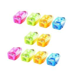 10Pcs Student Kids Ship Shape Pencil Sharpener School Office