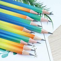 12pcs Drawing Writing 2B Pencil Student Stationery Pencil Sh