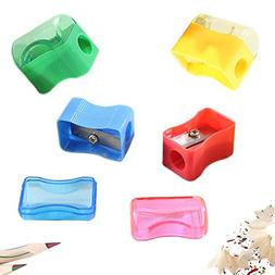 144 Pencil Sharpeners - Plastic Assortment