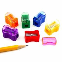 144pcs miniature assorted plastic school pencil sharpener
