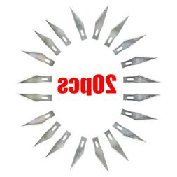 20 pcs Blades #11 Exacto Knife Style x-acto Hobby For Multi