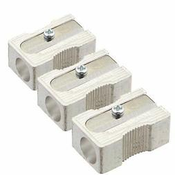 3 PACK: Kum 104.03.01 Magnesium Alloy Metal 1-Hole Steel Bla