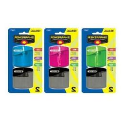 3 Pk, Bazic Dual Blades Sharpener with Square Receptacle, 2