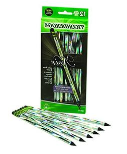 72 Pencils Total Dixon Ticonderoga Black Wood-Cased Black Wr