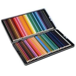 72 Premium Pre-Sharpened Colored Pencil Set for Drawing, Mul