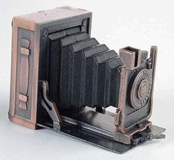 Box Camera with Billow Die Cast Metal Collectible Pencil Sha