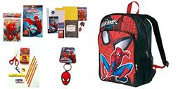 Spiderman Ultimate Back-To-School Backpack School Supplies A