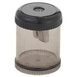Integra 42851 Pencil Sharpener, Single Hole, Plastic, 1-7/8""