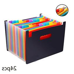 Gbell A4 Accordion File Bag, Expanding File Folder For Busin