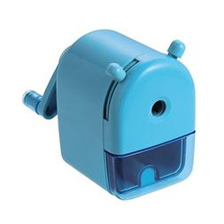 KUTSUWA Length Adjustable Pencil Sharpener, Light Blue