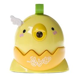 Adorable Chicken Shape Hand Rotating Plastic Manual Pencil S