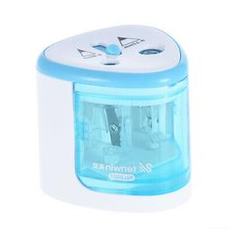 Auto Electric Pencil Sharpener Battery Powered For Colored G