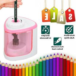 Automatic Electric Pencil Sharpener For Kids Battery Operate