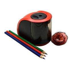 ComfortableBABY-Automatic Pencil Sharpener Dual Hole Electri