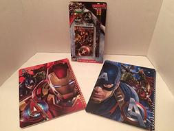Marvel Avengers Age of Ultron Themed School Bundle Includes