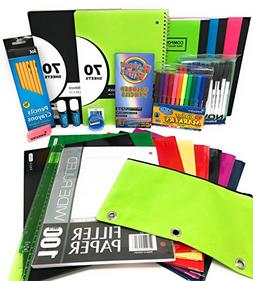 Back to School Bundle for 6th Grade to High School Supplies