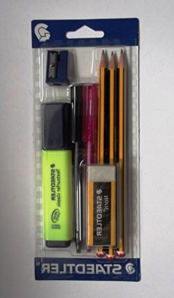 STAEDTLER Back To School - Stationery Set With 8 School Esse
