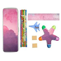 Back to School Supplies Kit for Educational Preschool - Pink