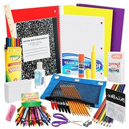 DilaBee Back to School Supplies Kit for Third to Fifth Grade