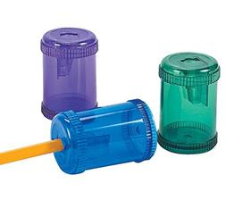 Barrel-Shaped Pencil Sharpeners - Stationery & Pencil Access
