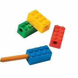 Brick Party Pencil Sharpeners - 12 ct