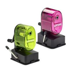 X-ACTO Bulldog Vacuum Mount Manual Pencil Sharpener, Assorte