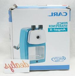 CARL Angel 5 Pencil Sharpener RED Office Products