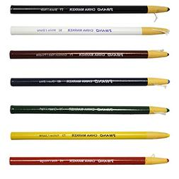 China Markers Wax Pencils-- Full Set of 7 Colors