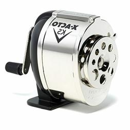 Classic Pencil Sharpener Table Wall Mount Manual Crank Metal