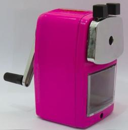 Original Classroom Friendly Pencil Sharpener, Pink, Quiet Cl