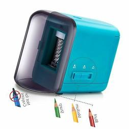 Colored Pencil Sharpener, Electric Battery Operated Pencil S