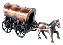 Covered Wagon with Horse Die Cast Metal Collectible Pencil S