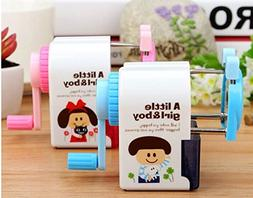1pcs. Creative Mechanical pencil sharpener pretty cute Girl