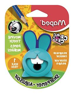 Maped Croc Croc Bunny Sharpener, 1-Hole