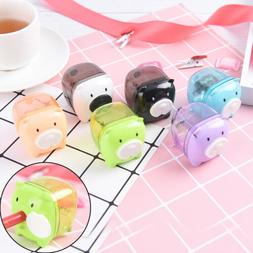 Cute Cartoon Pig Pencil Sharpener For Student Kids Gifts Off
