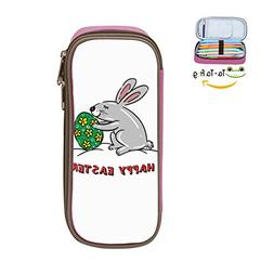 PenStar-Cute Easter bunny Large Capacity Pen Bag Canvas Penc