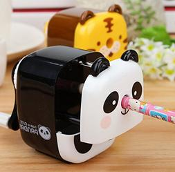 Cute Tiger Hand Rotating Pencil Sharpener For Office Classro