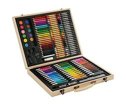 CONDA and Kiddy Color Deluxe Wood Art Drawing Set for Kids i
