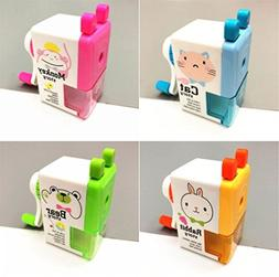 Wanrane Office Products Pencil Sharpeners Cute Style Carton