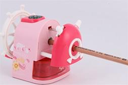 Fishinnen Desktop Sharpener Cute Style Carton Rudder Pattern