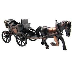 Die Cast Horse and Carriage Toy Pencil Sharpener