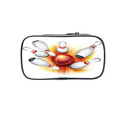 Diversified Style Pen Bag,Bowling Party Decorations,Collecti