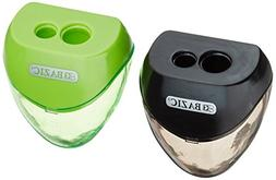 Bazic - Dual Blades Sharpener with Triangle Receptacle,