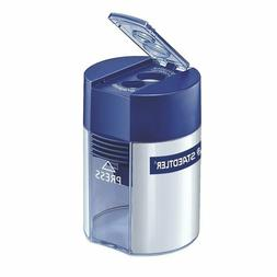 Staedtler Dual Hole Pencil Sharpener, 1-2/3 x 2-1/4 x 1-2/3