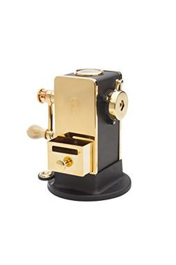 El Casco Black &  23 Kt Gold Plated Pencil Sharpener With Ba